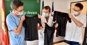 Hospital Torrecárdenas en un estudio contra la covid-19 con las camisetas Ekatom