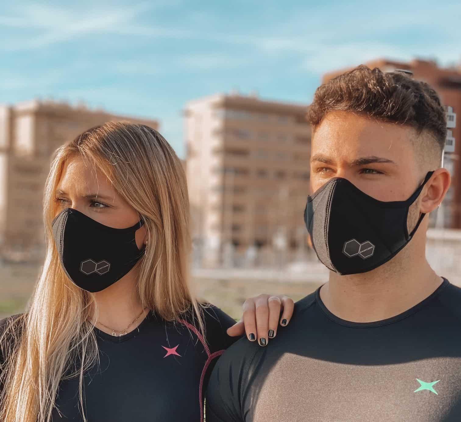 mascarilla hombre y mujer